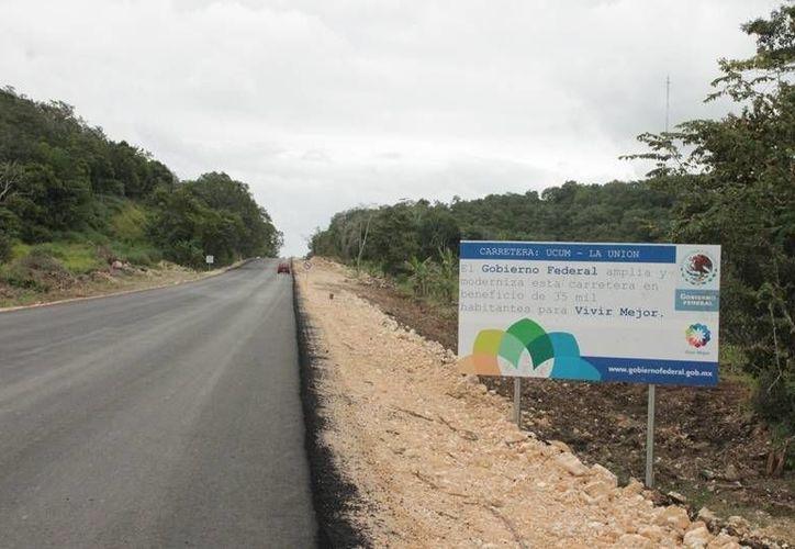 Con estos 4 kilómetros, se avanzará un total de 61.5 kilómetros de un total de 92. (Edgardo Rodríguez/SIPSE)