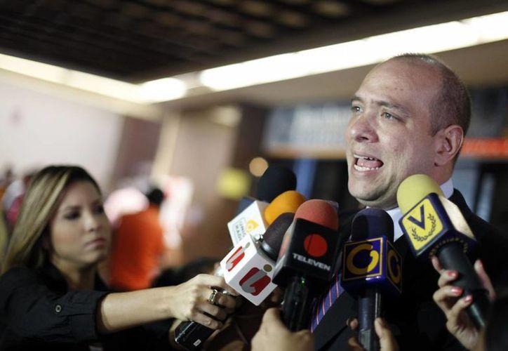 José Graterol, abogado de la magistrada, señala que la sentencia es totalmente arbitraria. (EFE/Archivo)