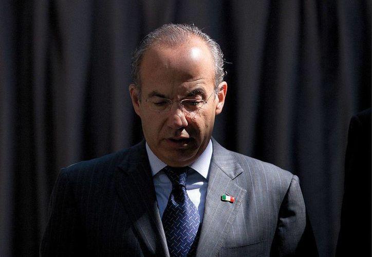 Felipe Calderón: donde la estrategia no pudo completarse es donde los gobiernos locales no sólo no cooperaron sino que incluso obstruyeron. (proceso.com.mx)
