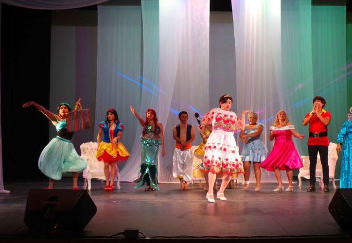 La obra de princesas se presentará en el Teatro de Cancún. (Jocelyn Díaz/SIPSE)
