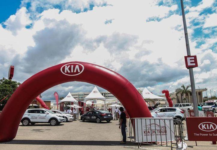Iniciará KIA Motors México una gira en Cancún este fin de semana. (Cortesía/SIPSE)