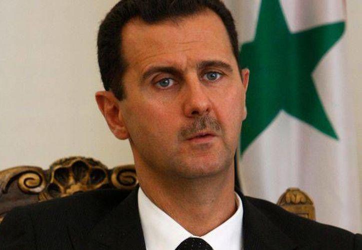 Presidente sirio, Bashar al-Assad. (Agencias)