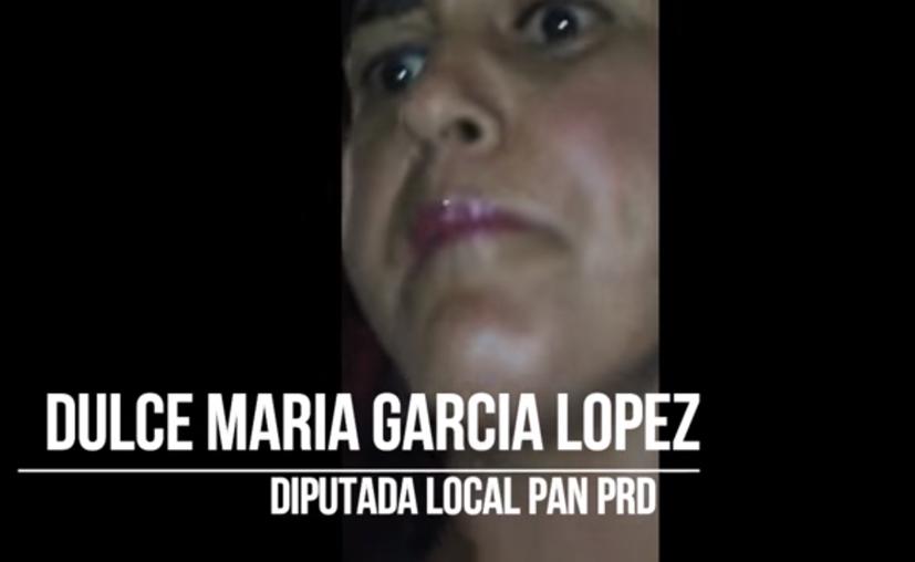 Dulce María García López fue grabada en presunto estado de ebriedad. (Captura de pantalla/Youtube)