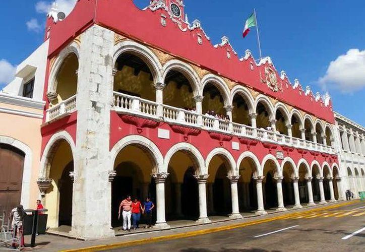 Palacio de gobierno en Mérida. (Redacción/SIPSE)