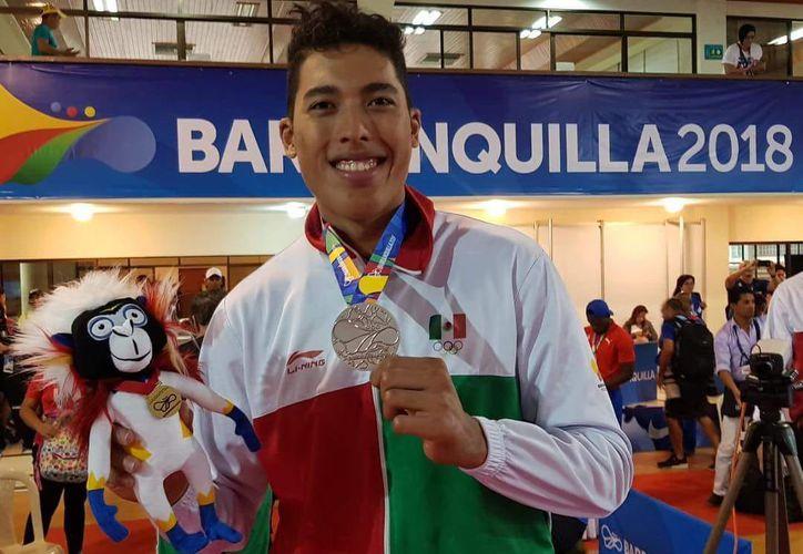 El taekwondoín Carlos Sansores busca tener un lugar en Tokio 2020. (Cortesía)