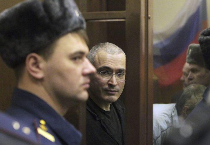 Jodorkovski planea viajar a Suiza a principios de enero y aún no ha tomado una decisión sobre su residencia permanente. (Agencias)