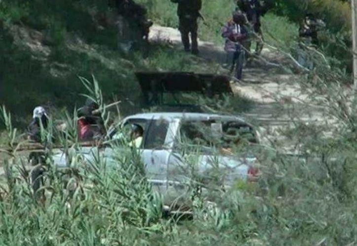 Un grupo de personas armadas se llevaron ganado como parte de un saqueo en un pueblo de Hidalgo. (Foto especial tomada de excelsior.com.mx)