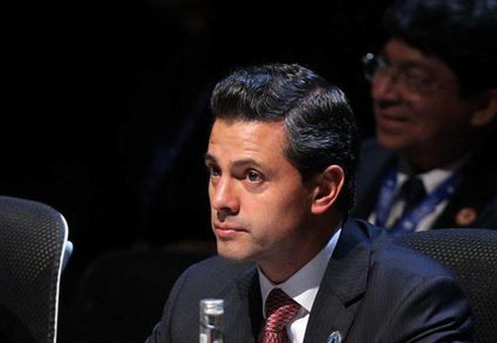 Peña Nieto: el mundo ha dejado de ser bipolar y ahora es multipolar. (EFE)