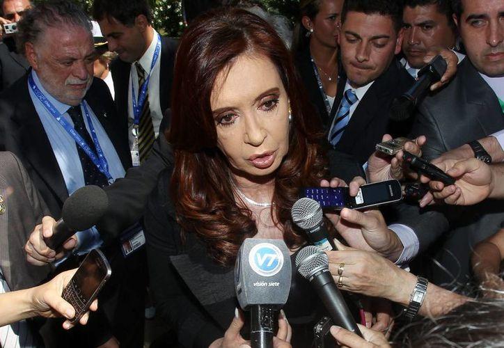 Uno de los patrocinadores de la campaña de Cristina Fernández  participaba en el tráfico de medicamentos. (EFE)
