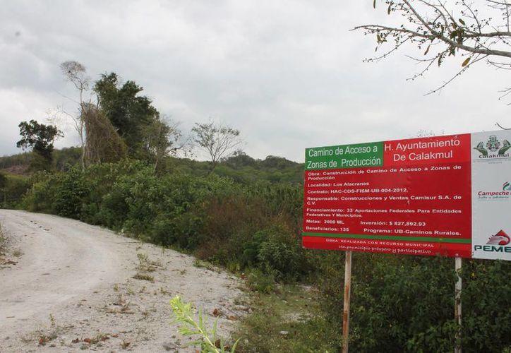 En 1996 el Congreso de Campeche creó el Municipio de Calakmul y se anexó una franja de territorio quintanarroense. (Harold Alcocer/SIPSE)