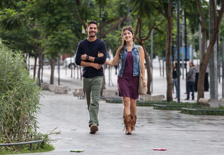 El actor Erick Elías dijo que esta película le deja un mensaje. (Redacción/SIPSE)