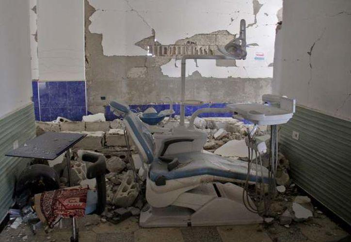 Al menos 21 personas murieron en una serie de ataques aéreos. (AFP).