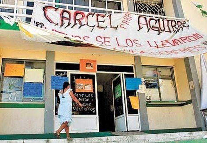 Edificios clave para la administración del estado están cerrados. (Nelly Salas/Milenio)