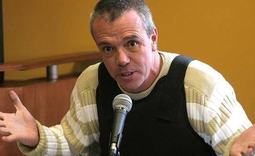 John Jairo Velásquez Vásquez, alias Popeye, en la imagen durante su declaración en juicio, salió en libertad el pasado miércoles 27 de agosto de 2014. (Colprensa)