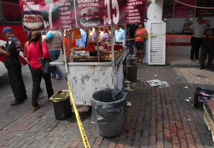 La explosión ocurrió en el Pasaje Yucatán ubicado en la calle 58 entre 65 y 67 del Centro de Mérida. (SIPSE)