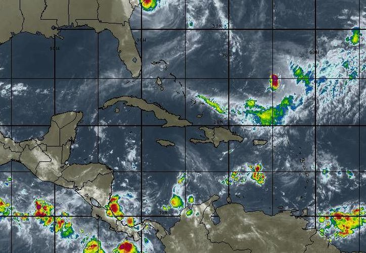 Estas condiciones son provocadas por la entrada de aire marítimo tropical con variable contenido de humedad. (Intellicast)