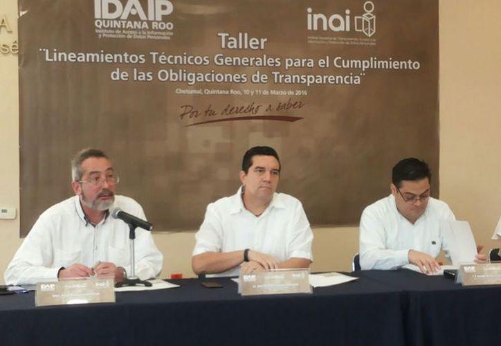 Personal del Idaip se capacita en la Ciudad de México sobre lineamientos y sistemas de verificación. (Foto: Benjamín Pat / SIPSE)