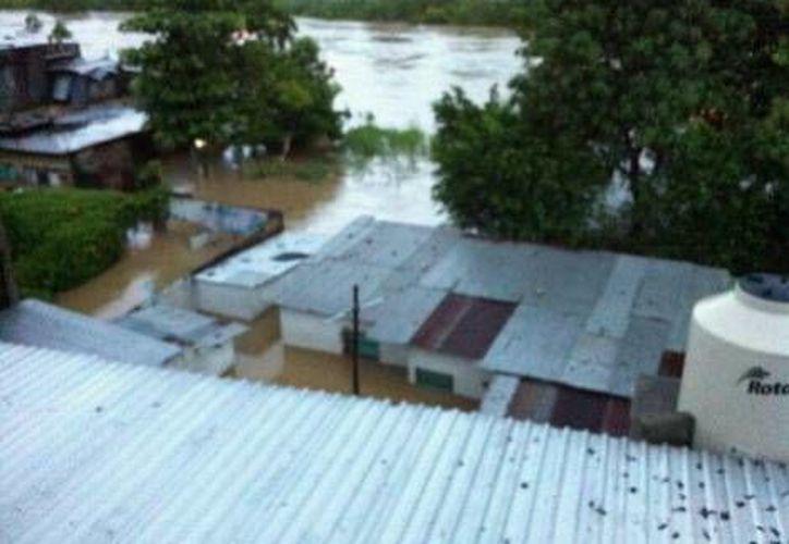 En Agua Dulce fueron habilitados dos refugios. (Milenio)