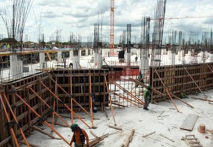 La imagen corresponde a un proyecto de inversión inmobiliaria que actualmente se realiza en el norte de la capital yucateca. (SIPSE)