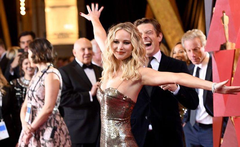 Jennifer Lawrence mantiene una figura envidiable. (vanguardia.com)