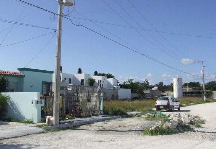 Vecinos de Villas Tulum se sienten olvidados por las autoridades. (Rossy López/SIPSE)