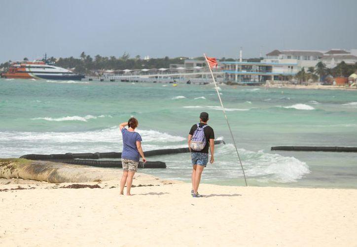 Realizaron una fotogrametría aérea con el fin de detectar las áreas susceptibles para realizar la recuperación de playas. (Foto: Adrián Barreto)