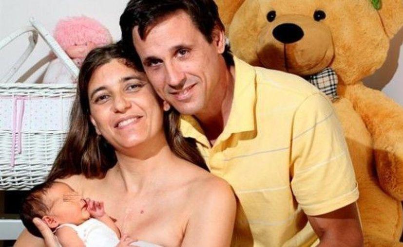 Juliana Finondo dio a luz el jueves pasado. (elsolonline.com)