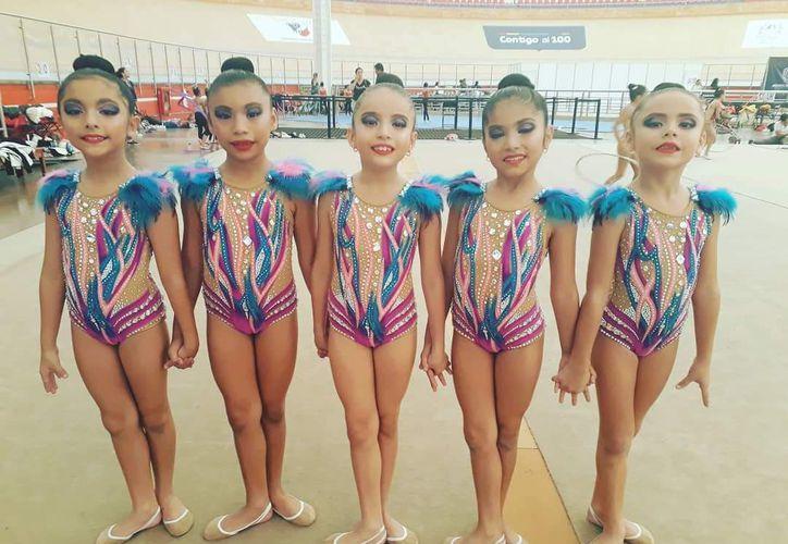 El Torneo de Fundamentos convocó a gimnastas de 8 a 13 años de edad de 23 estados del país.