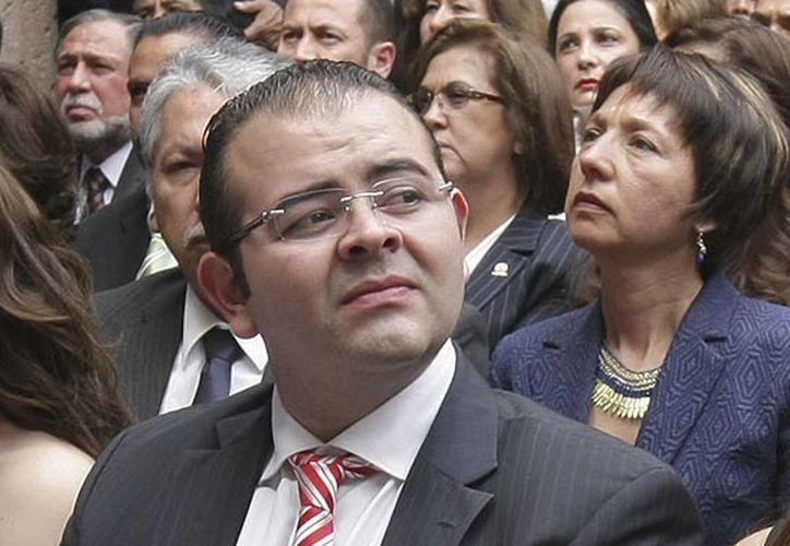 Rodrigo Vallejo, hijo del exgobernador de Michoacán se encuentra en libertad bajo fianza. (Archivo/Milenio)