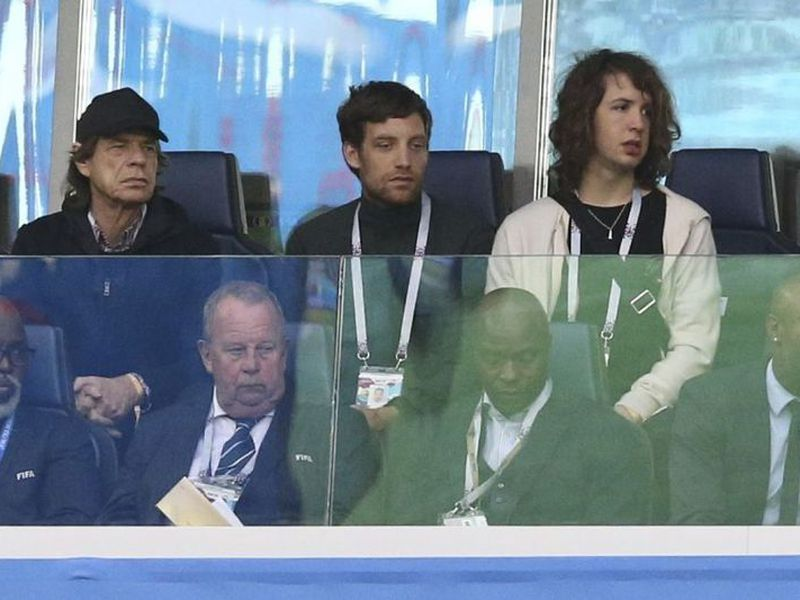 Mick Jagger asistió al Croacia vs Inglaterra y otra vez los 'Tres Leones' quedaron eliminados frente al cantante (Foto: latercera.com)