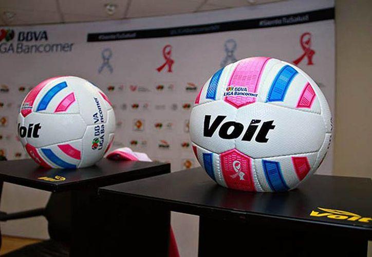 El 'Aspid' será utilizado en los estadios de la Liga MX y Ascenso MX durante la campaña contra el cáncer que se realizará en octubre próximo. (ligamx.net)