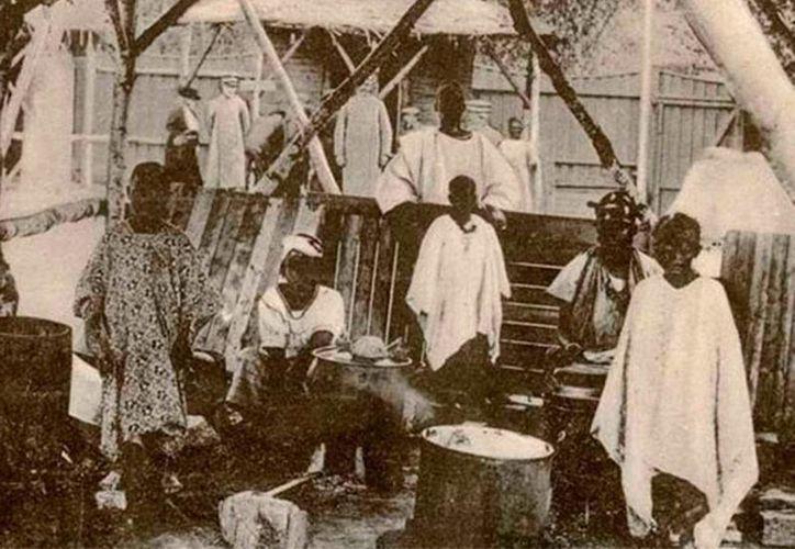 El 'Zoológico humano' fue la 'casa' de 80 africanos durante 5 meses, en 1914, cuando Noruega celebró el primer centenario de su Constitución y las muestras de nativos de otros continentes eran frecuentes en Europa. (wikimedia.org)
