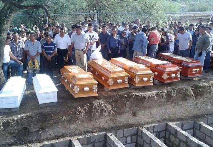 El detenido es investigado por el asesinato de 10 adultos y dos menores en Coxcatlán, Puebla. (Graciela Moncada/Síntesis)