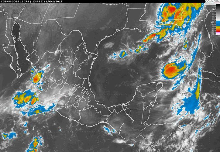 Para hoy se espera un cielo parcialmente cubierto en Chetumal. (Conagua)