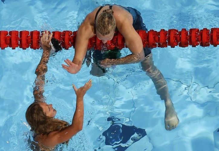 Yuliya Efimova superó por dos décimas a Jessica Hardy. (Foto: Agencias)