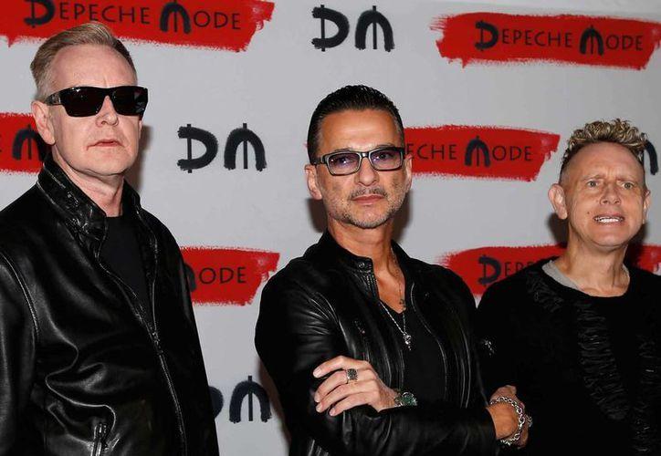 La banda inglesa presentará su nuevo disco en el mes de marzo, luego de un tiempo sin producir álbum musical. (Foto tomada de Facebook/Depeche Mode)