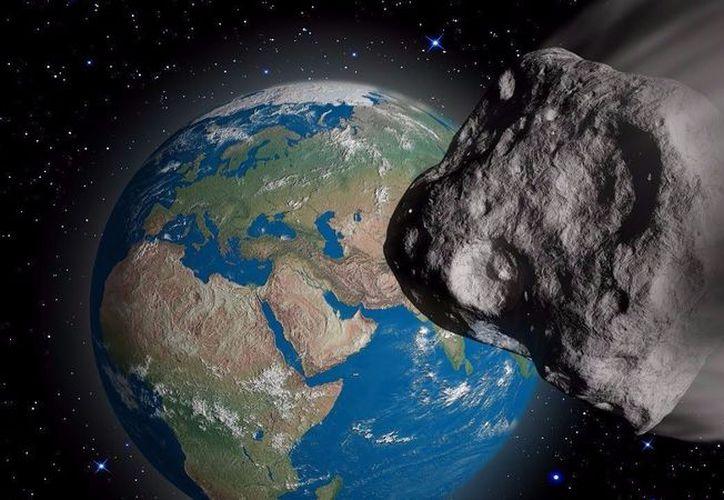 El asteroide 2018 es el sexto objeto más cercano que sobrevuela la Tierra a una distancia lunar. (Foto: Contexto)