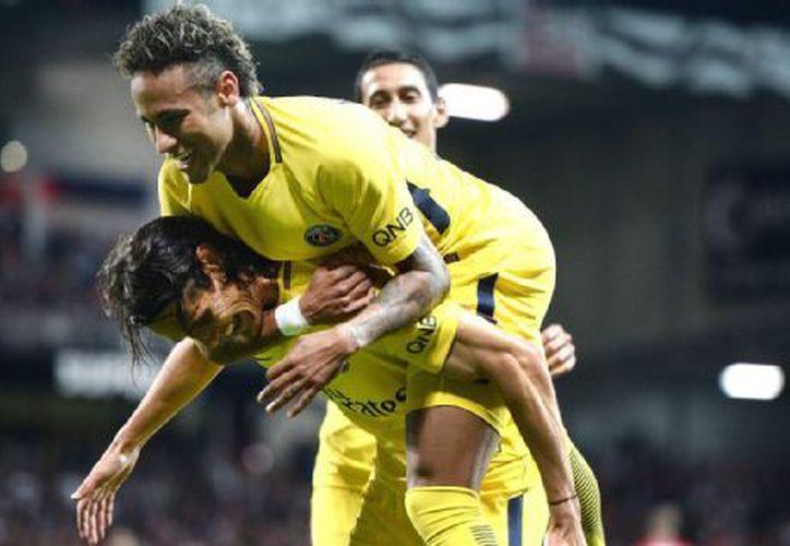 El primer gol de Neymar en Francia llegó a siete del final. (Foto: Contexto/Internet)