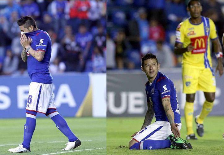 Chávez erró los dos penales del Cruz Azul. (Foto: Notimex)