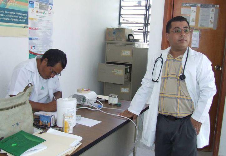 Aumentan las consultas en los diferentes centros de salud por enfermedades respiratorias. (Rossy López/SIPSE)