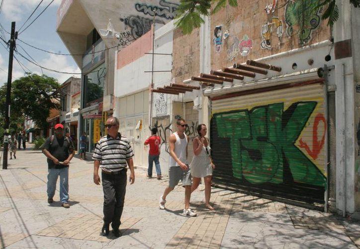 Los pequeños comercios han sido víctimas de la delincuencia lo que ha provocado el cierre de varios de ellos. (Jesús Tijerina/SIPSE)