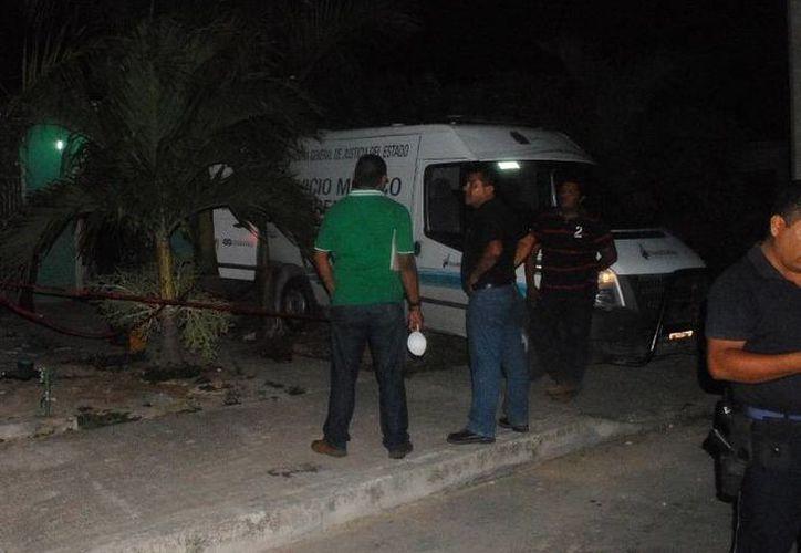 Las autoridades al verificar a la persona notaron que no presentaba señales de violencia. (Redacción/SIPSE)