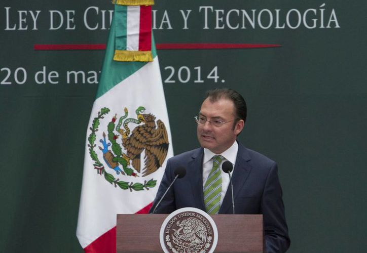 Videgaray asegura que la inversión extranjera en el país creció un 17 por ciento. (Notimex)