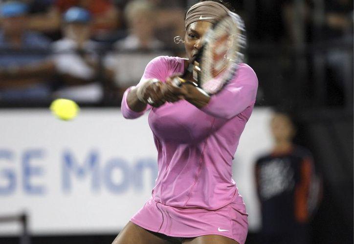 La Asociación Internacional de Tenis femenil (WTA) también nombró a Serena Williams la mejor tenista del año. (EFE)