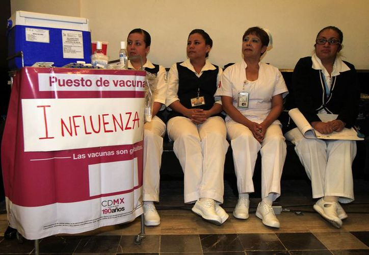 El pasado 27 de octubre, la Secretaría de Salud inició oficialmente la campaña de vacunación contra la influenza. Este 7 de noviembre, el IMSS garantizó el 100 % del abasto de dosis. (Archivo/Notimex)
