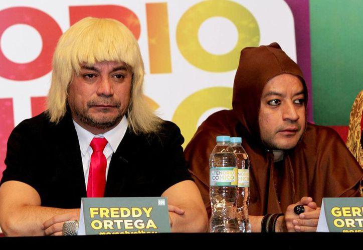 Freddy (i) y Germán Ortega dieron por terminada su relación laboral con Televisa. Al respecto anunciaron que tienen 'buenas ofertas' pero no han firmado contrato con alguna empresa. (Archivo Notimex)