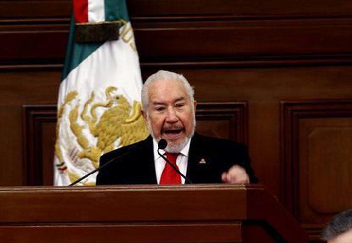 Luna Ramos dijo que la sociedad mexicana debe estar bien informada para poder emitir su voto. (Archivo/Notimex)