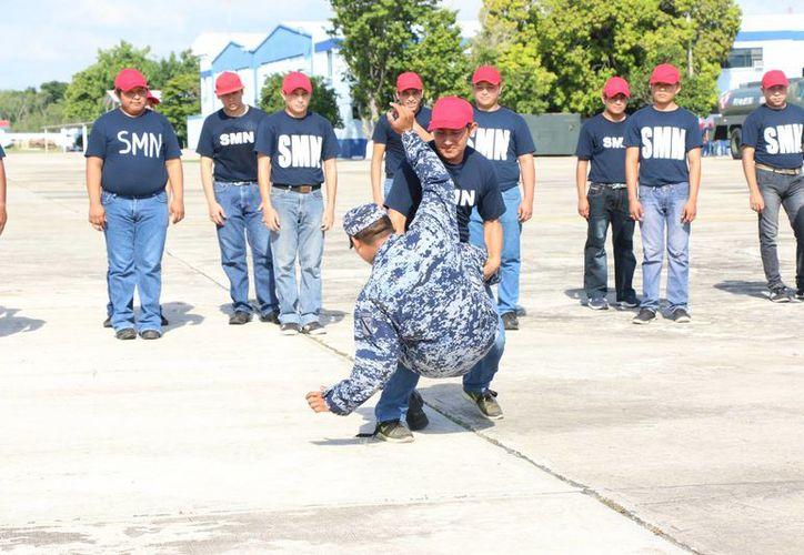 La próxima convocatoria para entrar al Servicio Militar Nacional será en enero de 2017. (Foto: José Acosta/SIPSE)