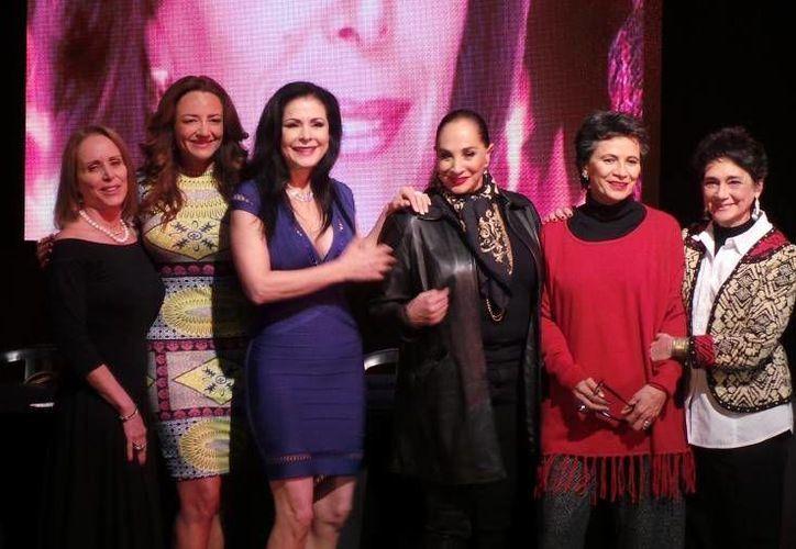 Las actrices ofrecerán dos funciones en el Teatro de Cancún. (Foto: Contexto/ Internet)
