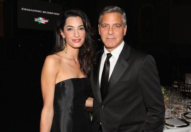 Amal y George dieron la bienvenida a Ella y Alexander Clooney. (Foto: Contexto/Internet)
